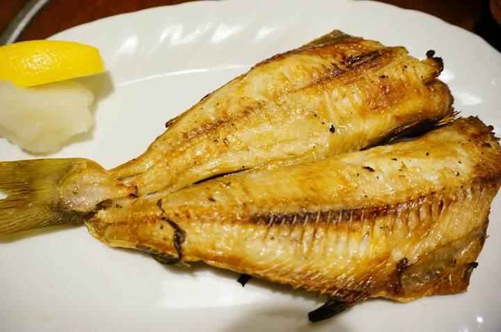 Grilled atka mackerel ホッケ - Kigurajyaya きぐら茶屋 - Izakaya 居酒屋