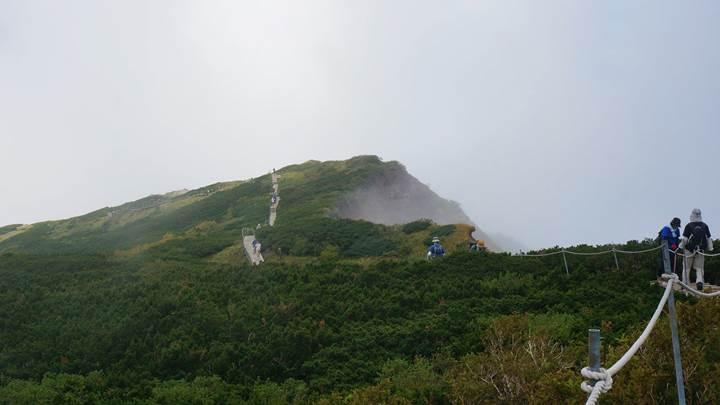 Mt. Daisen (Misen) in Daisen Oki National Park 大山隠岐国立公園 大山 (弥山)
