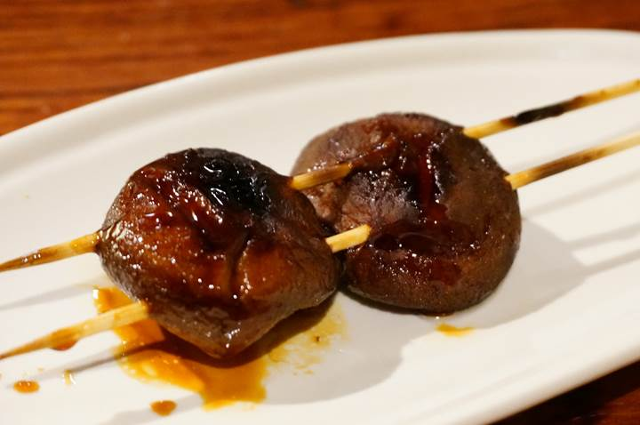Grilled Chicken Skewer Bar Restaurant - Yakitori Izakaya TORITETSU - Shiitake Mushroom - 焼き鳥 居酒屋 とり鉄 - しいたけ