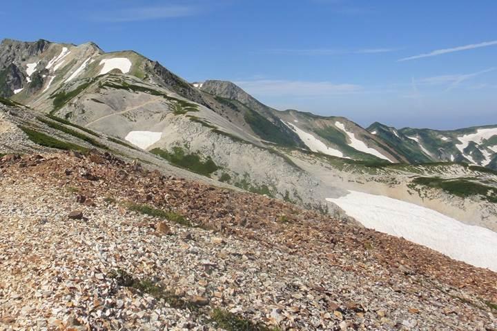 Mt. Shiroumadake (Mt. Shirouma) 白馬岳