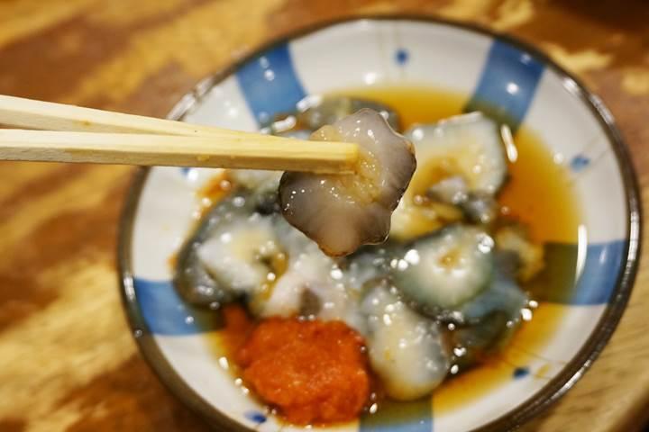 Sea Cucumber ナマコ - Standing Bar 立飲みたきおか Tachinomi-Takioka in Ueno 上野