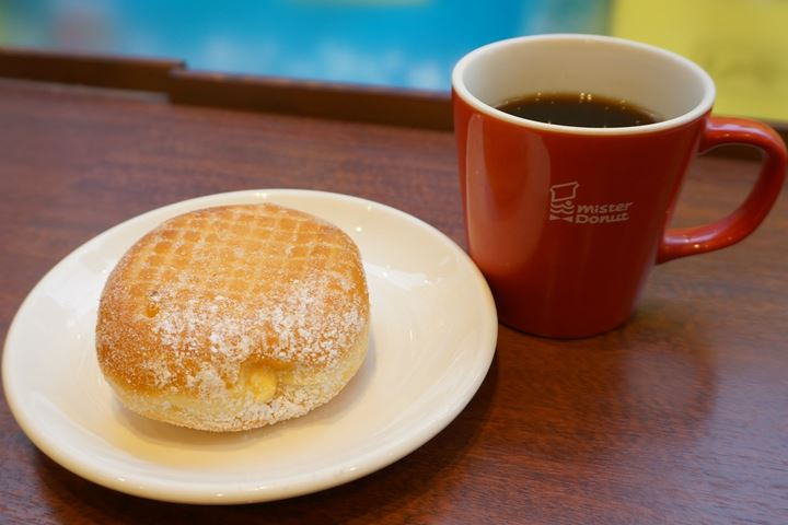 Mister Donut Blended Coffee ミスタードーナツ ブレンドコーヒー
