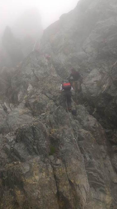 Mt. Tsurugidake 剱岳 Long Ladder はしご