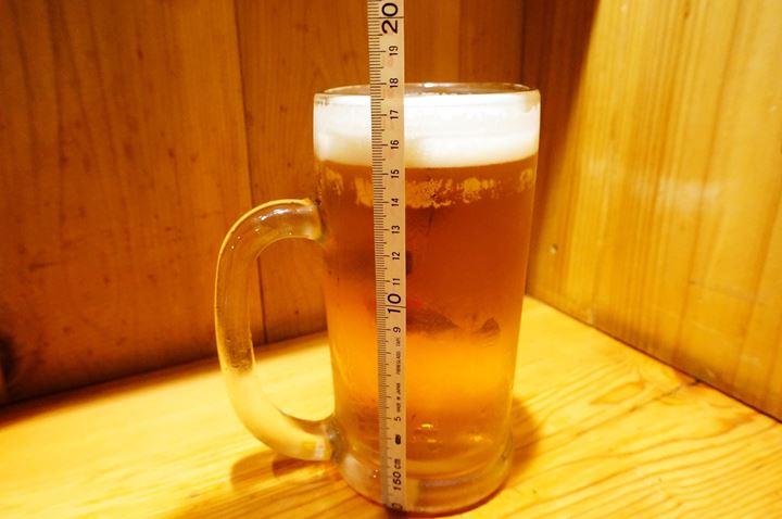 Torikizoku 鳥貴族 メガ金麦 (Beer ビール)