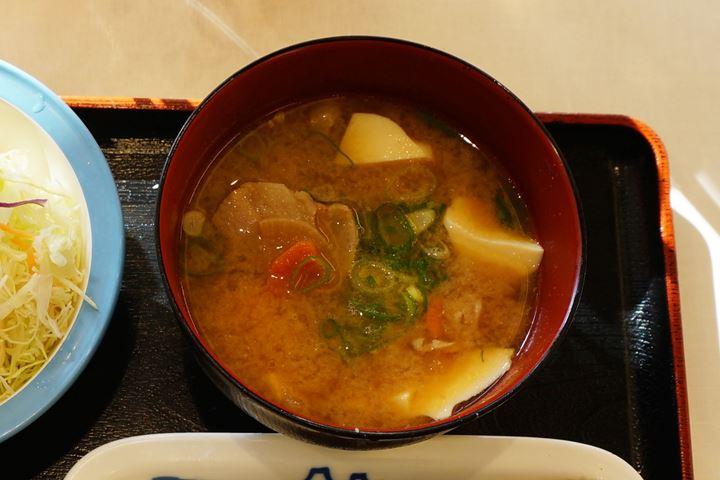 Change to Tonjiru 豚汁変更 - Matsuya 松屋