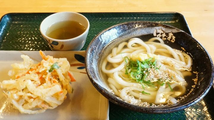 Mixed Vegetables Tempura かき揚げ - Hanamaru Udon はなまるうどん