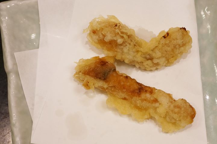 Matsutake Mushroom 松茸 - TENDON TENYA 天丼てんや - Tempura 天ぷら