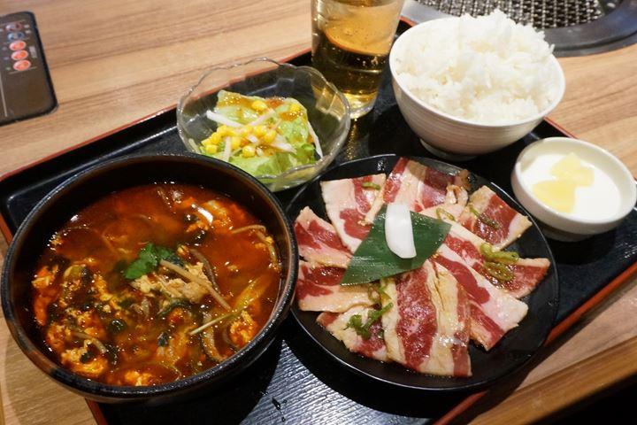 スペシャルランチ ファミリーカルビSPランチ 100g - Japanese Style Barbecue - 焼肉 安楽亭 Yakiniku ANRAKUTEI