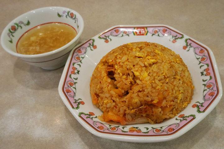 Gyoza OHSHO 餃子の王将 - Kimchi Fried Rice キムチ炒飯