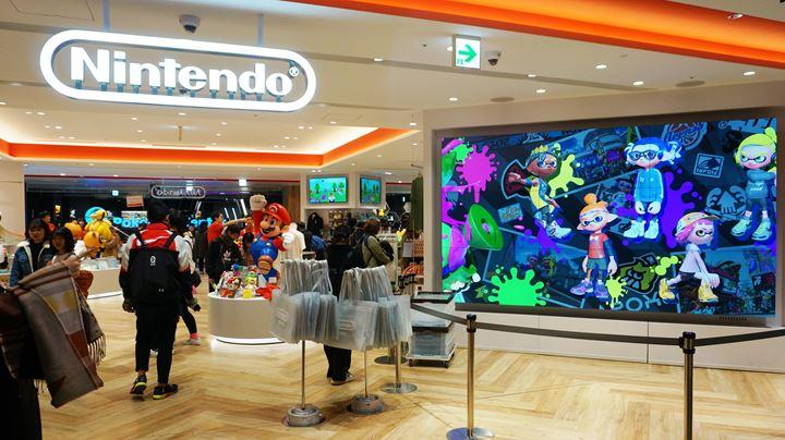 Nintendo TOKYO in PARCO Shibuya 渋谷パルコ 任天堂