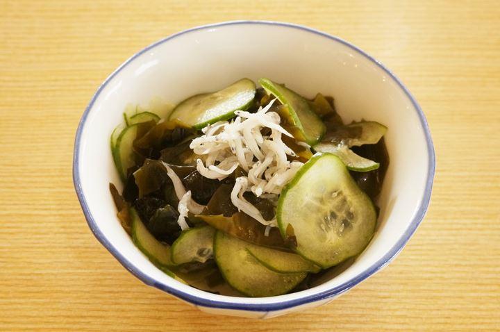 Vinegared WAKAME Sea Vegetable - MAIDOOOKINI SHOKUDO まいどおおきに食堂