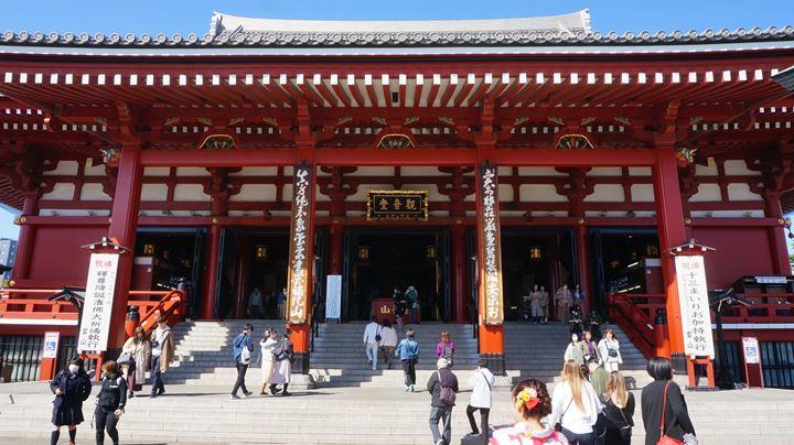 Sensoji Temple in Asakusa Tokyo 東京 浅草寺