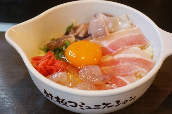 Reasonable Lunch Menu Classic Mix 超お得ランチメニュー 定番ミックス - DOHTONBORI OKONOMIYAKI 道とん堀 お好み焼き