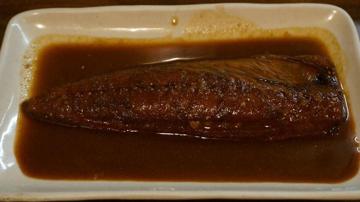 Mackerel Simmered in Miso 鯖味噌煮(さばみそに) Japanese Food WARAJIYA 和食 わらじ家 GINZA NINE