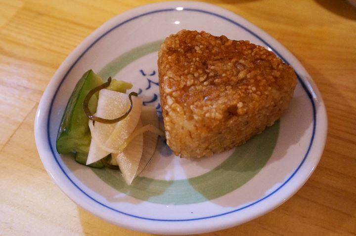 Grilled Rice Ball 焼きおにぎり - Standing Bar KAMIYA 立ち呑み かみや