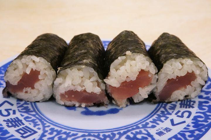 Tuna Roll 鉄火巻 - Conveyor Belt Sushi Restaurant (Sushi Go Round) KURASUSHI くら寿司