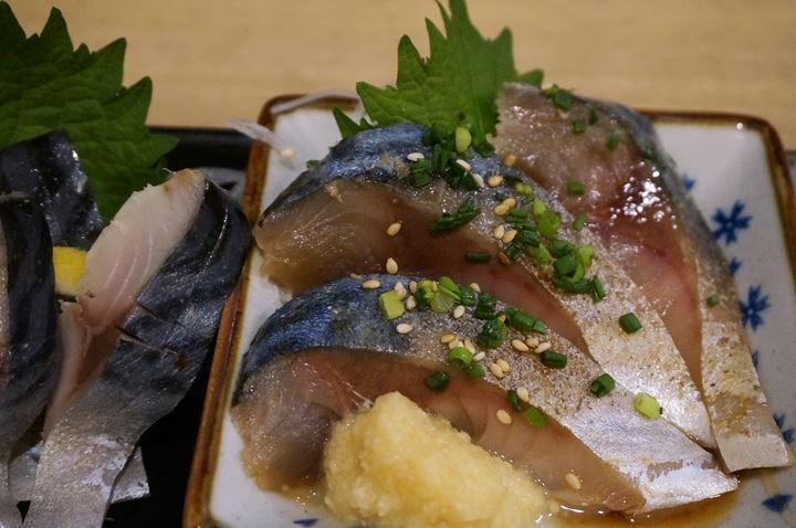 青森料理居酒屋 ごっつり 南千住 銀鯖三種盛り合わせ 3 Kinds of Mackerel Sashimi Platter at Aomori Izakaya GOTTSURI Minami-Senju