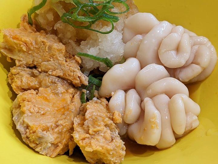 Monkfish Liver and Cod Milt あんきも白子 HAMAZUSHI はま寿司 HAMASUSH