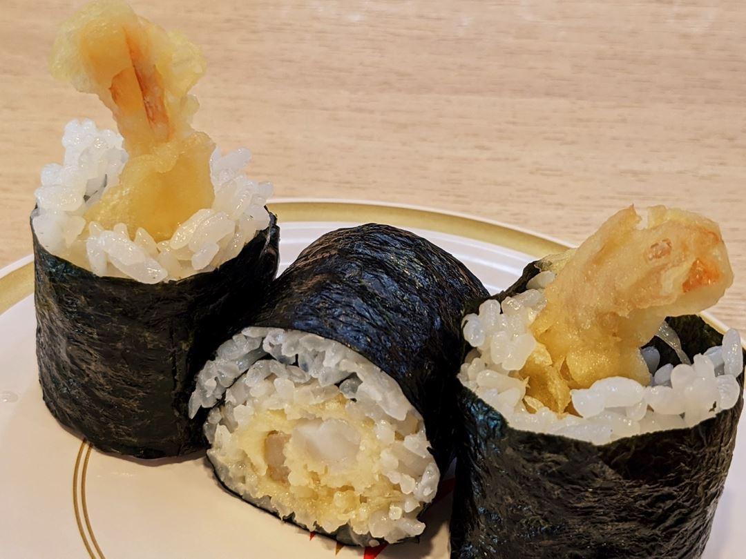 Shrimp Tempura Roll えび天巻 KAPPASUSHI (KAPPAZUSHI) かっぱ寿司
