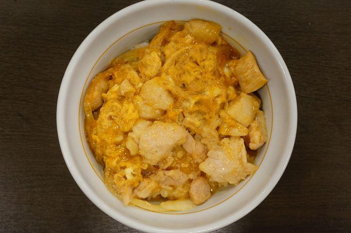 Chicken and Egg Rice Bowl 親子丼 - NAKAU なか卯