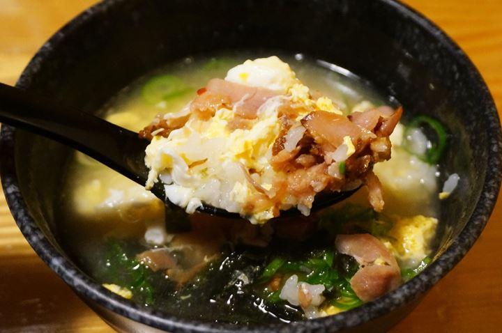 Torikizoku 鳥貴族 Porridge of Rice, Chicken Soup and Meat とり雑炊