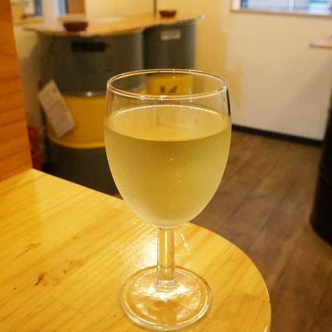 White Wine 白ワイン - Standing Bar KAMIYA 立ち呑み かみや