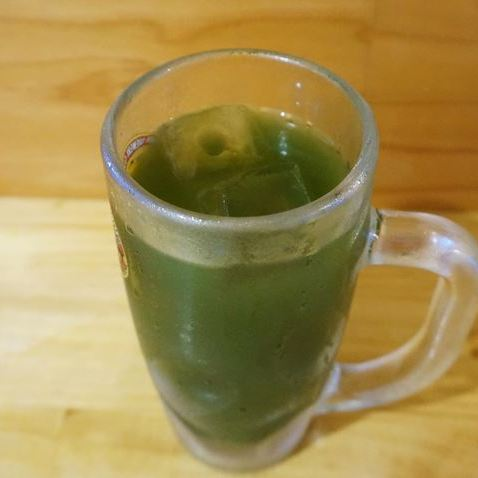 Green Juice High 青汁ハイ - Standing Bar KAMIYA 立ち呑み かみや