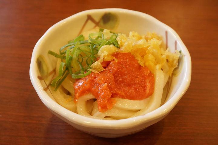 Spicy Cod Roe 明太子 - MARUGAME SEIMEN 丸亀製麺 Udon うどん