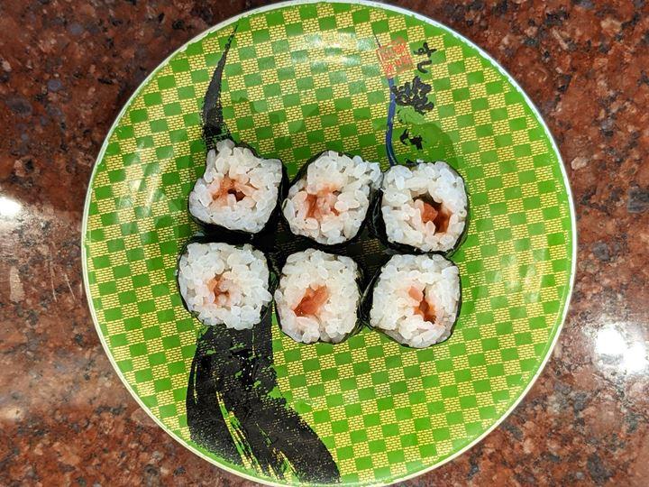 Pickled Nanko Plum Roll Sushi 紀州南高梅巻 CHOUSHIMARU すし 銚子丸 - 回転寿司 鮨