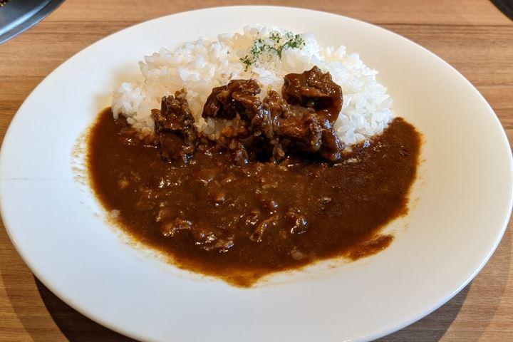 ランチ スパイシービーフカレー Spicy Beef Curry Rice 焼肉 安楽亭 Yakiniku ANRAKUTEI
