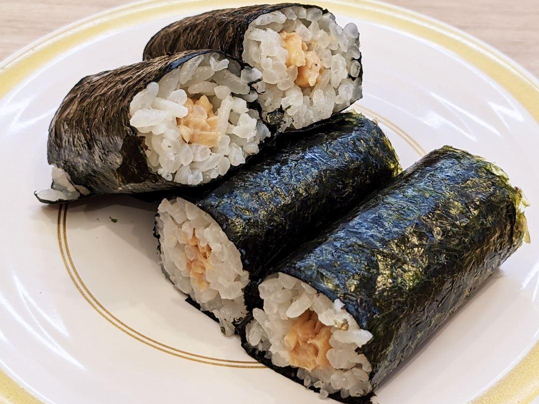 Natto Roll なっとう巻 KAPPASUSHI (KAPPAZUSHI) かっぱ寿司