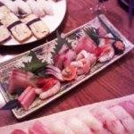 寿司と刺し身
