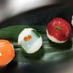 artistic unique sushi
