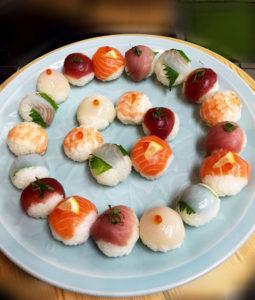 てまり寿司大皿