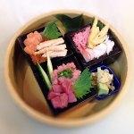 3種の枡寿司