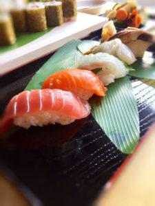 握り寿司アップ