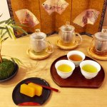 japanese tea tasting 3 kinds