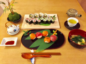 サーモンマグロ寿司コース