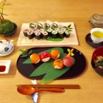 マグロとサーモンのヘルシー玄米寿司コース