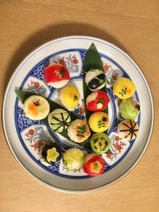 ビーガン手まり寿司