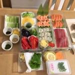 てまり寿司材料