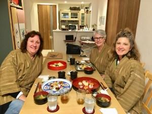 手まり寿司とゲスト