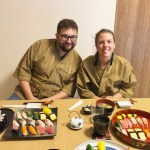 お寿司とゲスト