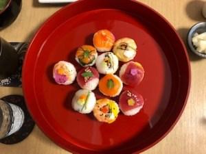 ゲスト作美しい寿司