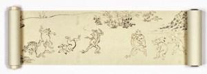 日本の伝統的な絵巻物