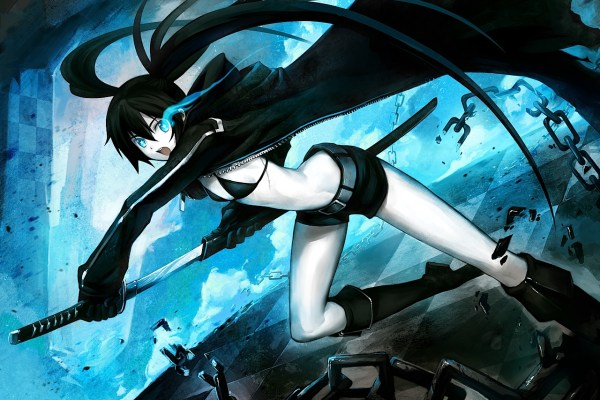 Black Rock Shooter Goodies For PSN