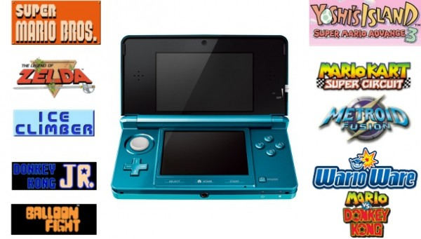 3DS Ambassador Program Games Revealed