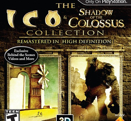 Ico & Shadow Of The Colossus Cover Art