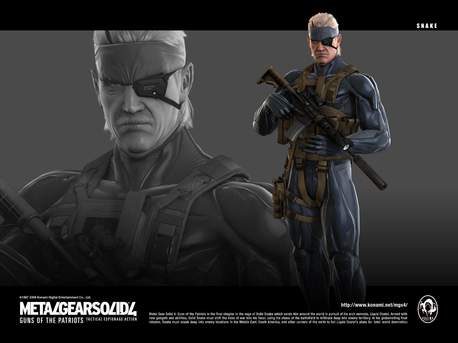 Metal Gear Solid Artbook