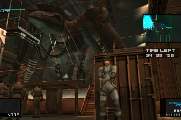 New Metal Gear Solid HD Edition Screenshots (Vita)